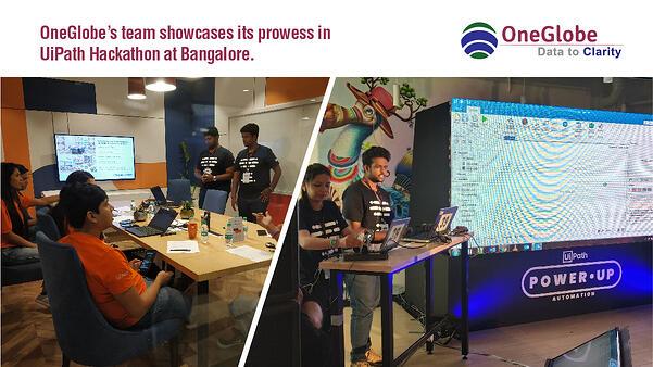 OneGlobe_at_UiPath_Hackathon_Bengaluru